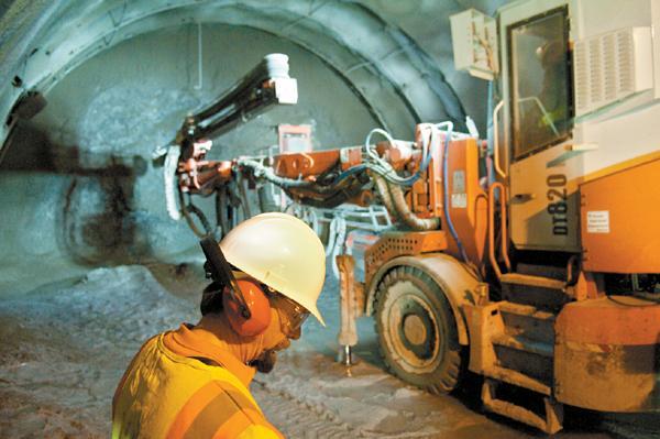 Devil's Slide tunnels spring a leak