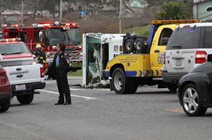 Crash closes roadway