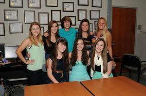 2013 Woburn Memorial High School yearbook staff