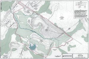 Sutton Brook Superfund Site Map