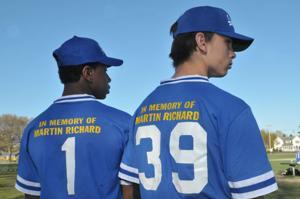 Tribute to marathon bombing victim