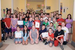 Wyman School third graders