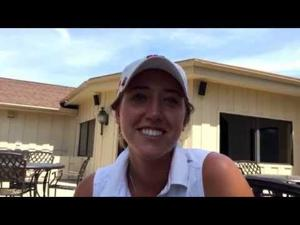 Video: Badger golfer Gabby Curtis on her State Am runner-up finish to teammate Becky Klongland
