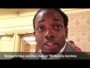 Badgers One-on-One: Tailback Melvin Gordon talks about UW's backfield greats