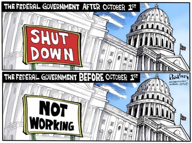 madness last time government shutdown