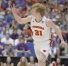 Mike Bruesewitz, UW men's basketball vs. Kansas State