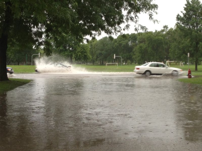 Heavy Storms Cause Widespread Flooding Make 2013 Wettest