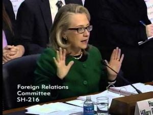 Heated exchange between Secretary of State Hillary Clinton and Sen. Ron Johnson over Benghazi attack