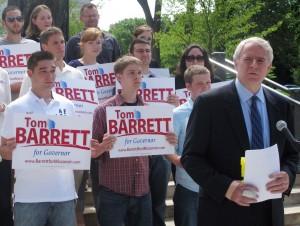 Barrett calls for $1 billion in state government cuts