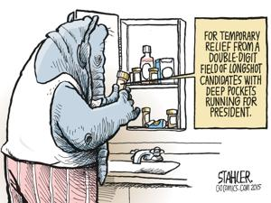 Editorial cartoon (8/4/2015)