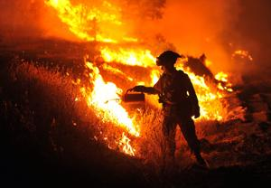 Photos: Western wildfires