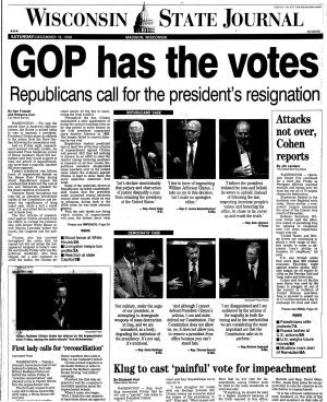 Pages from history Dec. 19-20, 1998