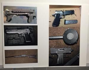 Police arrest seven in response to recent gun violence