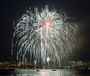 Interactive map: Guide to area fireworks