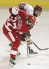 Cody Goloubef, Anthony Maiani, UW men's hockey at Denver