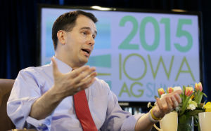 Scott Walker suggests being an Eagle Scout has prepared him to be commander in chief