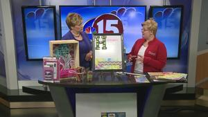 Michael's Craft Store Back to School Crafts 8-30-15