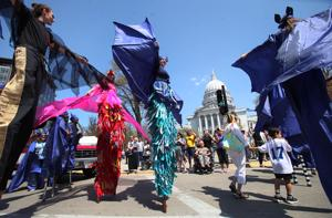 Photos: STRUT! parade around Capitol Square