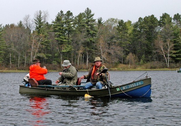 Patrick durkin north woods worries overshadow start of for Wi fishing season
