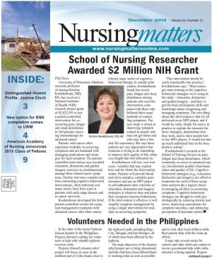 Nursingmatters December 2013 Issue