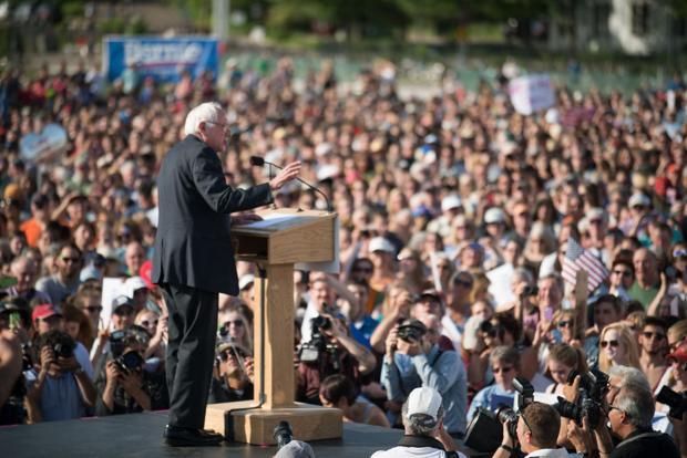 John Nichols: Bernie Sanders tells billionaires: 'You can't have it all'