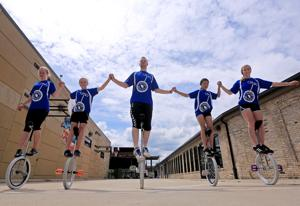 Photos: Unicyclists gear up for national convention