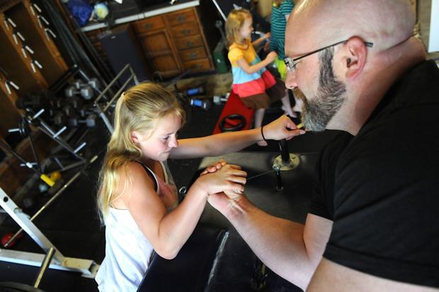 St. Joseph girl, 12, dominates at state arm wrestling match