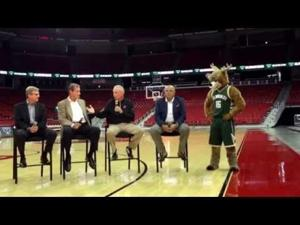 Video: Badgers coach Bo Ryan talks about the Bucks plans to train, play preseason game in Madison