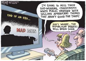Editorial cartoon (5/22/2015)