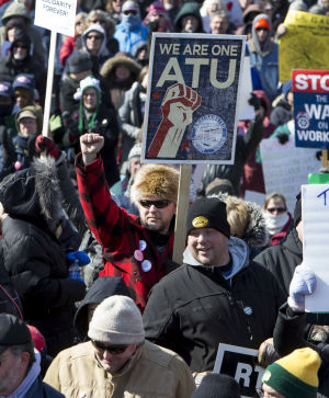 Clash over 'right-to-work' bill continues in Wisconsin Assembly hearing