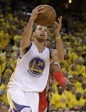 Video: Stephen Curry, Warriors advance to NBA finals