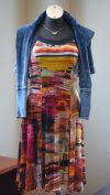 Terese Zache bright dress