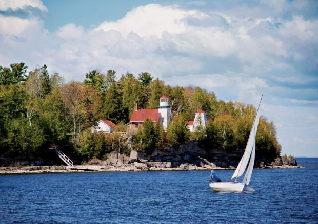 Used Cars Madison Wi >> Summer in Wisconsin: Door County lighthouses : 77-square