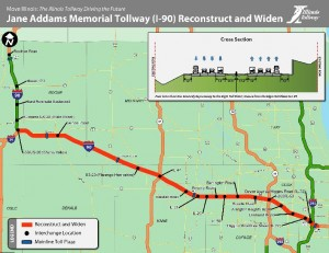 Illinois tolls to nearly double in 2012; I-90 rebuild ...