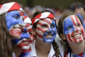 Photos: America cheers on its Women's World Cup champions