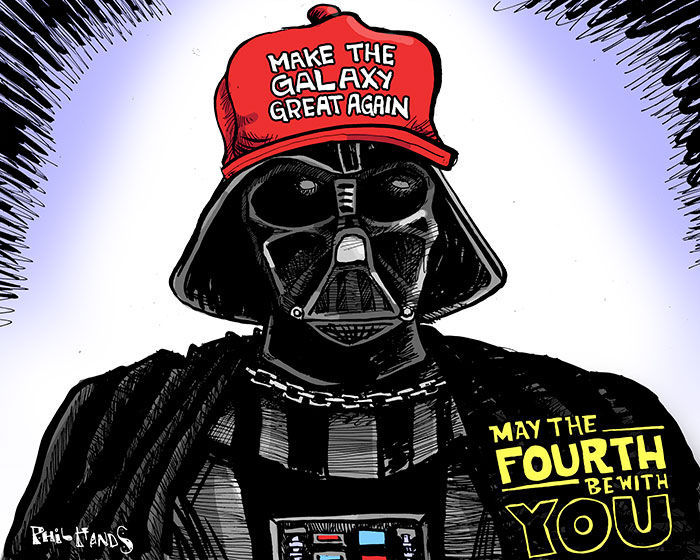 Image result for may the fourth be with you trump