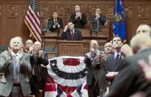 State of the State speech marks end of tumultuous first year for Walker