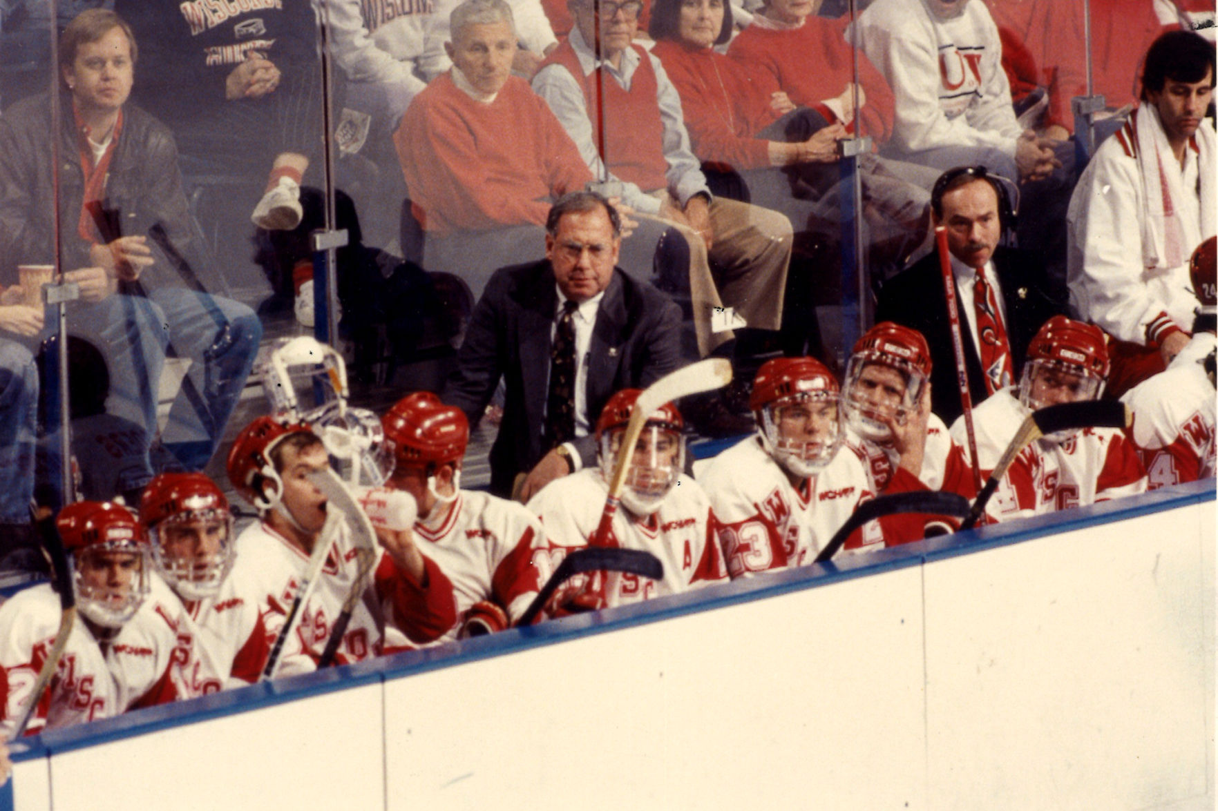 NCAA: Photos - Former Wisconsin Coach Jeff Sauer Through The Years
