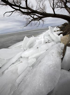 Photos: Ice along Lake Mendota
