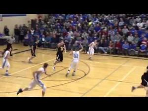 Cuba City at Mineral Point boys basketball highlight reel