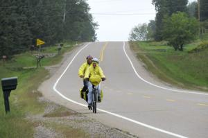 On Wisconsin: Pedalling the state in comfort and with a goal