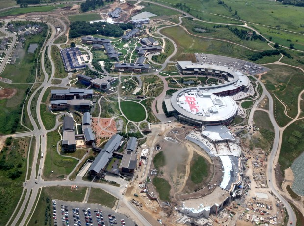 Photos epic systems new farm campus wsj
