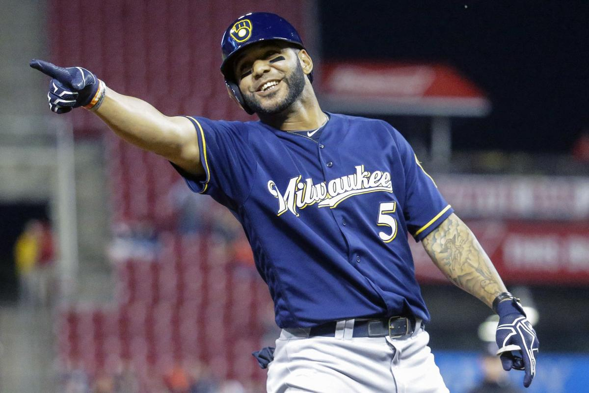 Image result for Jonathan Villar Brewers