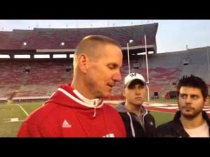 Video: Badgers coach Gary Andersen meets the media after Thursday's practice