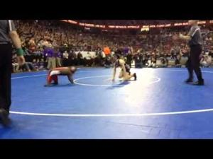 ICYMI: Bayfield's Zach Anglin, born without hands & feet, competes in WIAA wrestling