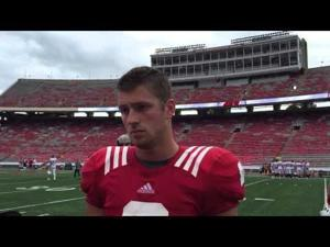 Badgers' Tanner McEvoy says he has 'to work on his routes' as regular WR