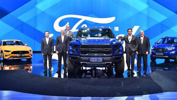 After Dismal First Quarter Ford Motor Company 39 S Sales