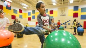 School Spotlight: Creekside students drum for fitness