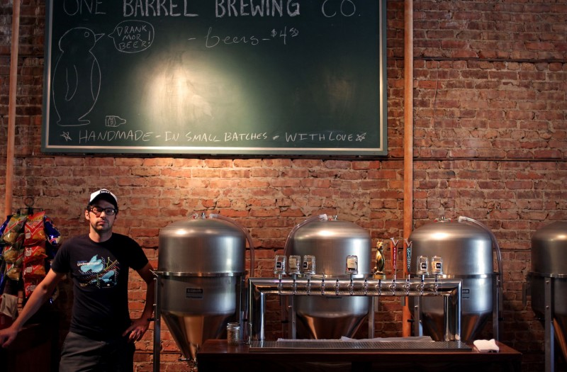 Big Deal Small Batch City S First Nanobrewery Set To