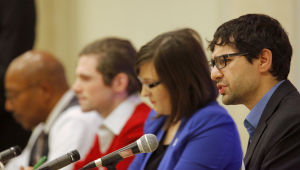 First Madison mayoral forum features few shots at absent Paul Soglin